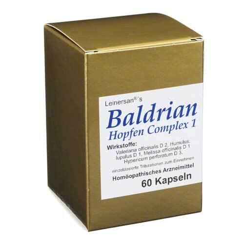 Baldrian Hopfen Complex 1 Le