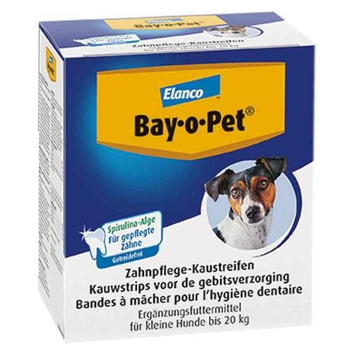 Bay O PET Zahnpflaster Kaustreifen für kleine Hunde