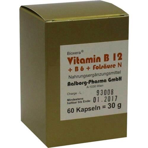 Vitamin B12 + B6 + Folsäure Komplex N Kapseln