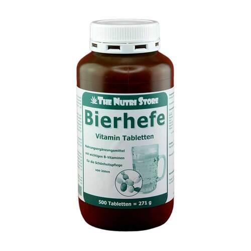 Bierhefe 500 mg Vitamin Tabletten