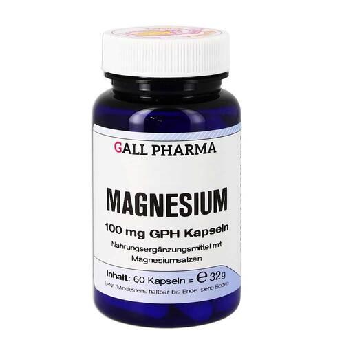 Magnesium 100 mg GPH Kapseln