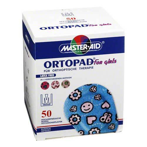 Ortopad for girls medium Augenokklusionspflaster