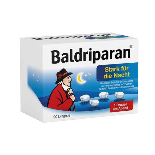 Baldriparan Stark für die Nacht überzogene Tabletten