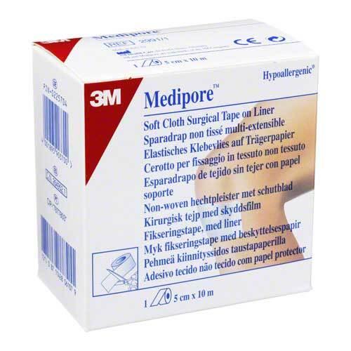 Medipore Fixiervlies 5cmx10m 2991 / 1 hypoallergen