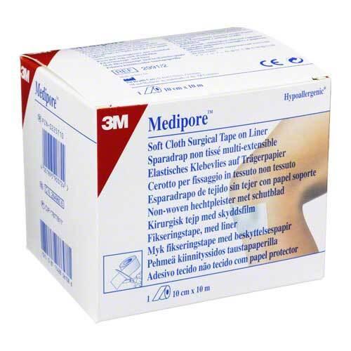 Medipore Fixiervlies 10cmx10m 2991 / 2 hypoallergen