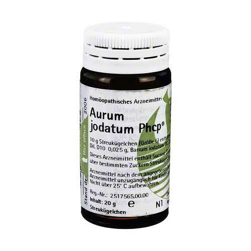 Aurum jodatum Phcp Globuli