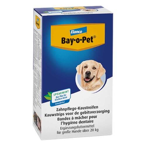 Bay O PET Zahnpflege Kaustreifen für große Hunde