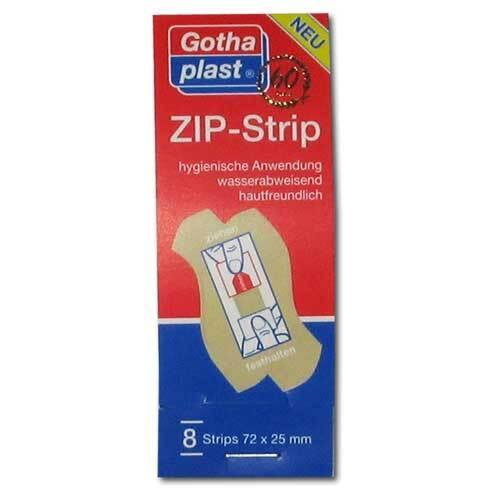 Zip Strip wasserabweisend 72