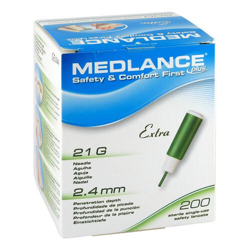 Medlance Plus Extra Sicherheitslanzetten 21 G
