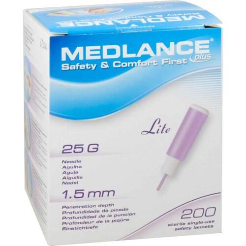 Medlance Plus Lite Sicherheitslanzetten 25 G