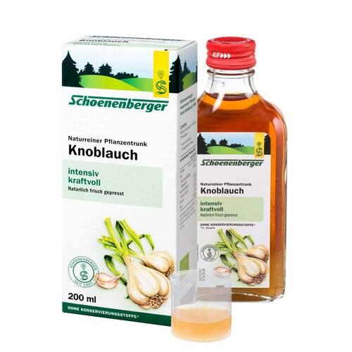 Knoblauch Naturreiner Pflanzentrunk Schoenenberger 01159487