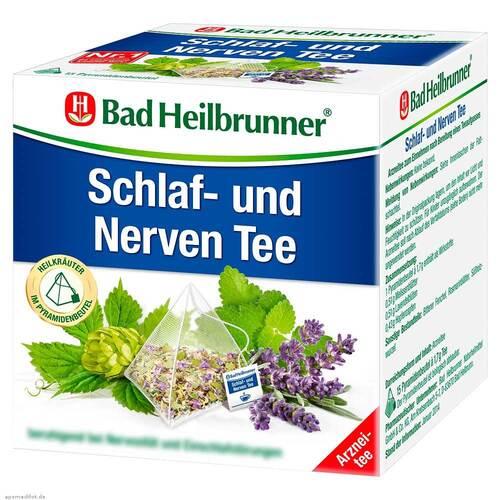 Bad Heilbrunner Tee Schlaf- und Nerven Pyram.Beutel