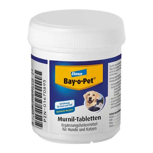 Bay O PET Murnil Tabletten vet. (für Tiere)