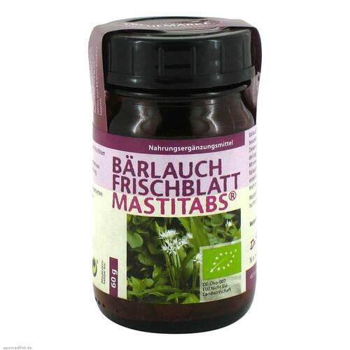 Bärlauch Frischblatt Mastitabs Tabletten