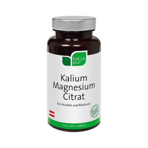 Nicapur Kalium Magnesium Citrat Kapseln