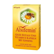 Alsifemin Gelee Royal + Vitamin E Kapseln mit Ginseng