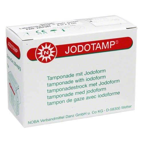 Jodotamp Tamponadestreifen 5mx2cm einz.verpackt