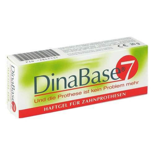 Dinabase 7 unterfütterndes Haftmaterial für Zahnprothesen