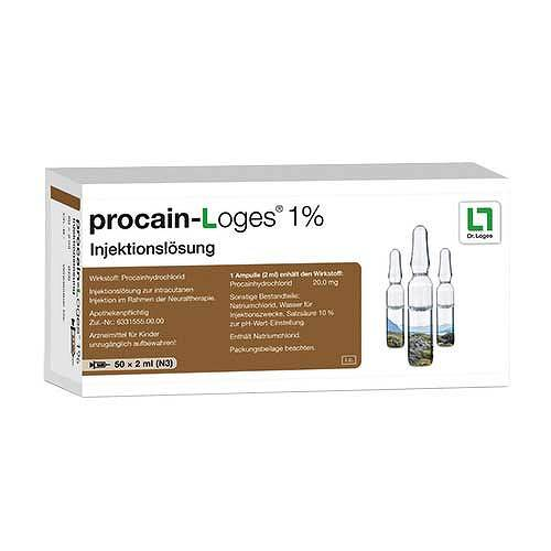 Procain-Loges 1% Injektionslösung Ampullen