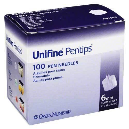 Unifine Pentips 0,33x6 mm 31 G Kanüle