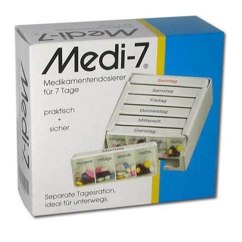 Medi 7 Medikamenten Dosierer