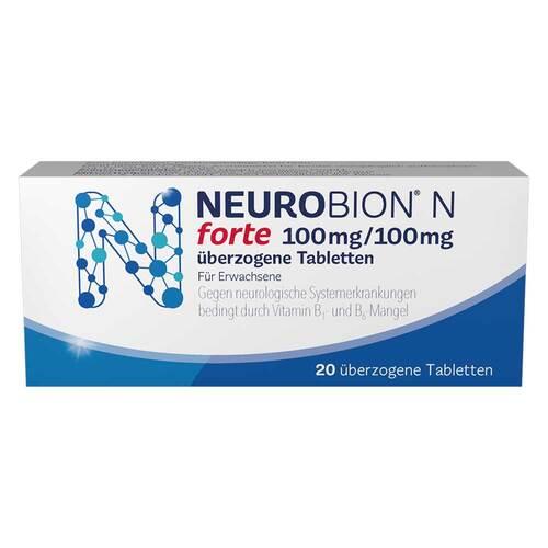Neurobion N forte überzogene Tabletten