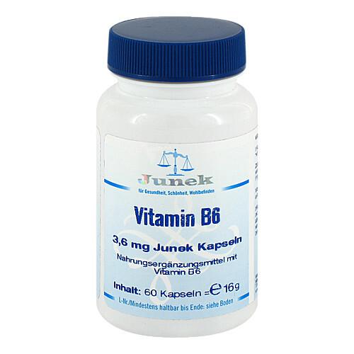 Vitamin B6 3,6 mg Junek Kapseln