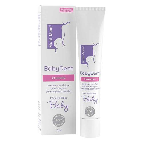 Multi Mam Babydent Gel