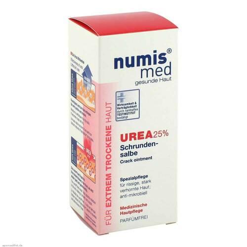 Numis med Schrundensalbe Urea 25%