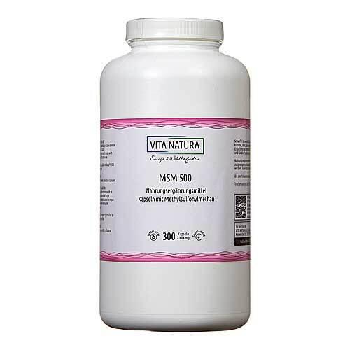 MSM 500 mg Kapseln