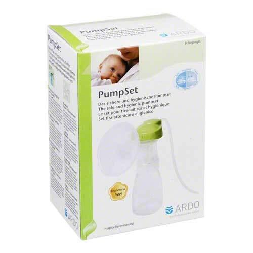 Ardo Pumpset sicher und hygienisch