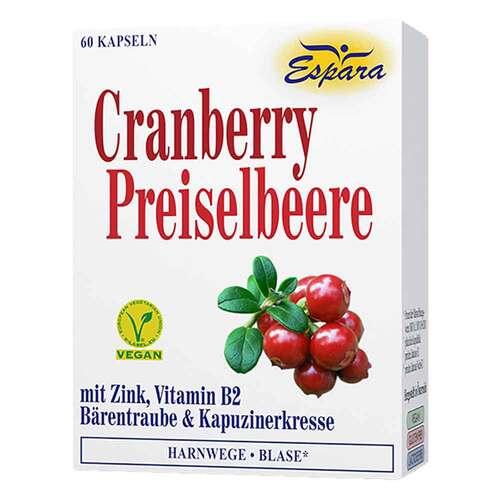 Cranberry Preiselbeere Kapseln