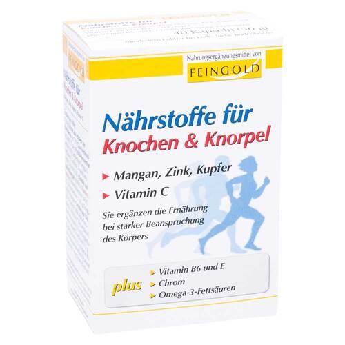 Nährstoffe für Knochen & Knorpel Kapseln