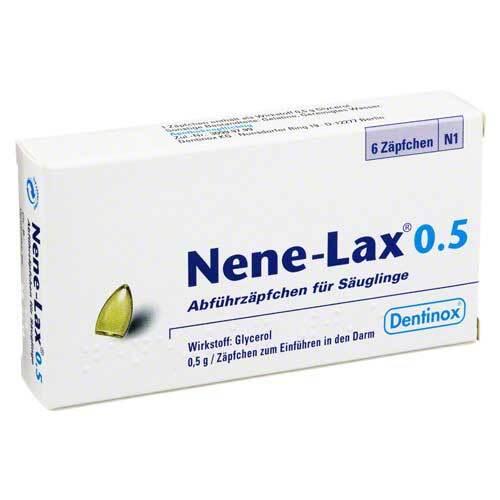 Nene Lax 0,5 Suppositorien für Säugl.