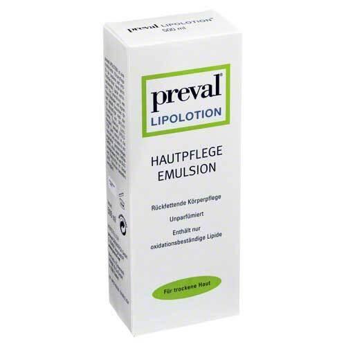 Preval Lipolotion Rückfettende Hautlotion