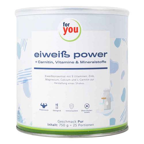 For You Eiweiß Power Pur