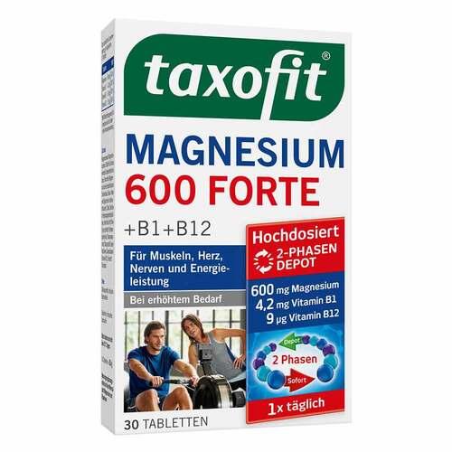Taxofit Magnesium 600 Forte Depot Tabletten – 30 Stück